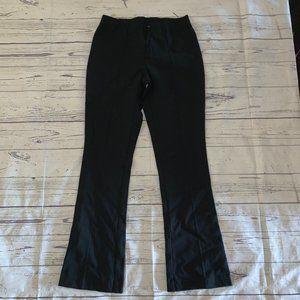 J.JILL Ponte Barely Boot Cut Black Pull-On Pant XS